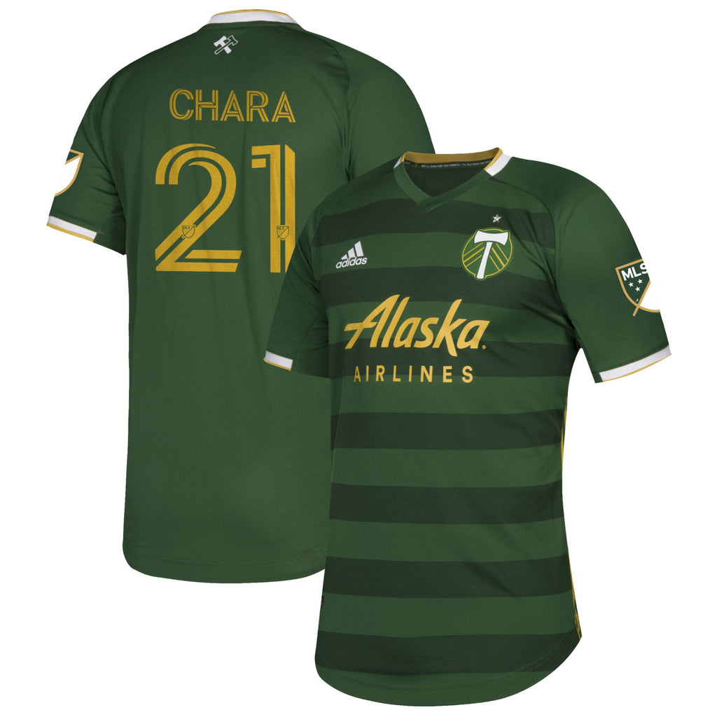 PORTLAND TIMBERS FC 2020 MEN'S AUTHENTIC PRIMARY JERSEY - CHARA