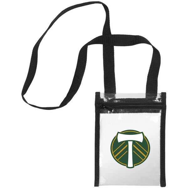 PORTLAND TIMBERS FC CLEAR CROSSBODY BAG