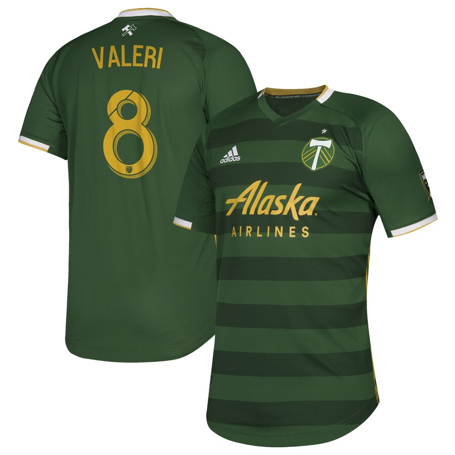 PORTLAND TIMBERS FC 2019 MEN'S AUTHENTIC PRIMARY JERSEY - VALERI