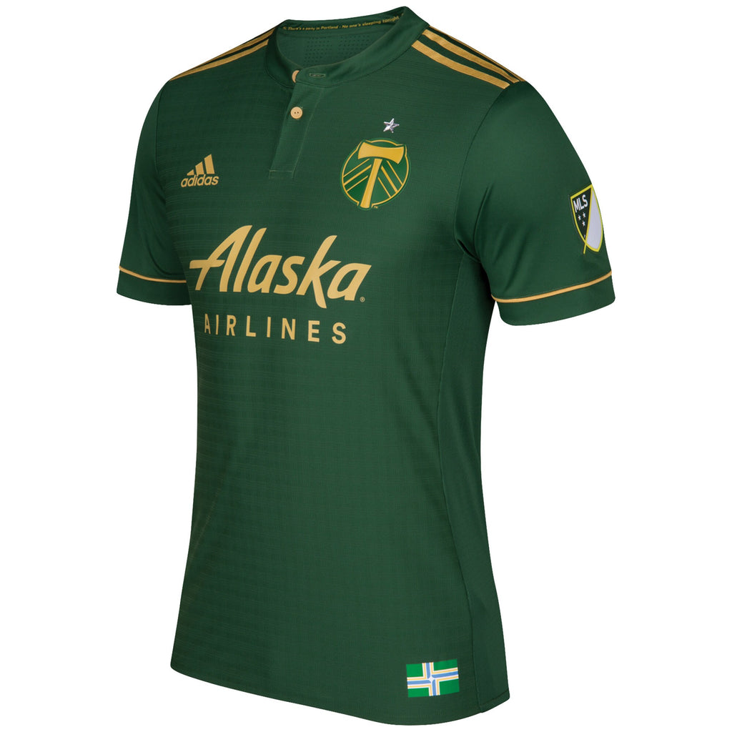 PORTLAND TIMBERS FC 2018 MEN'S AUTHENTIC PRIMARY JERSEY