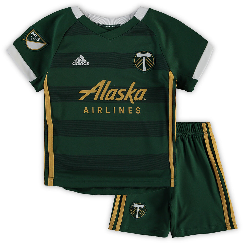 PORTLAND TIMBERS FC 2019-20 TODDLER JERSEY KIT