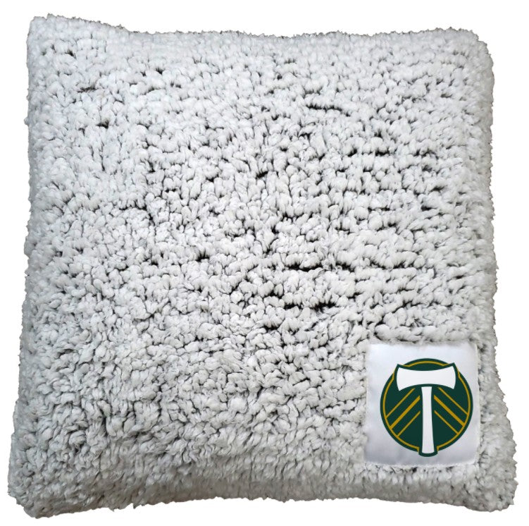 PORTLAND TIMBERS FC FROSTY FLEECE PILLOW