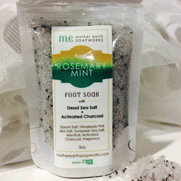 Detox Rosemary Mint Sea Salt Foot Soak