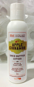 Apple Cinnamon, Shea Butter Lotion with Goat Milk & Honey