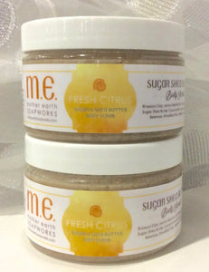 "Brightening Vitamin C Body Scrub in ""Fresh Citrus"""