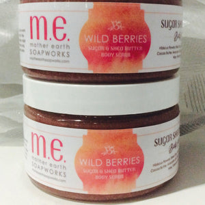Wild Berries Sugar and Shea Body Scrub