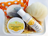 Good Mornings Start with Fresh Citrus Gift Set