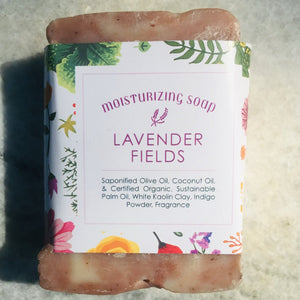 """Isn't She Lovely"" Lavender Essential Oil Soap Bar"