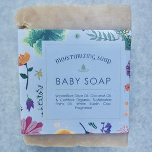 """Powder Breeze"" Gentle Baby Soap"