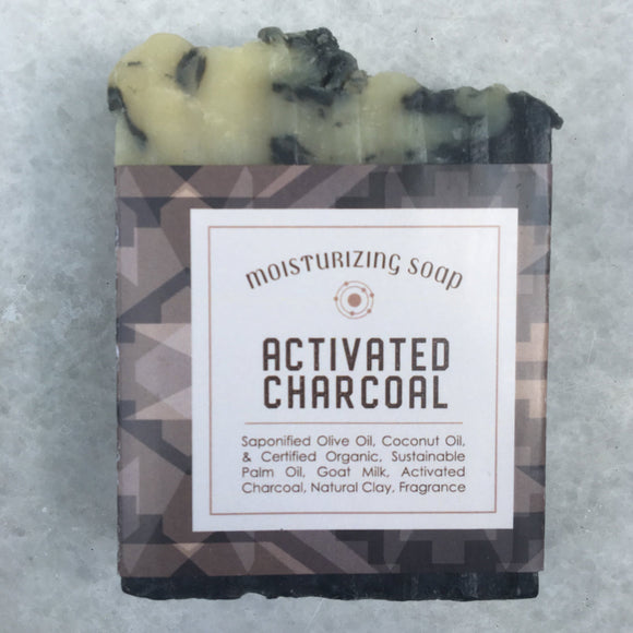 Activated Charcoal & Goat Milk Soap for Face & Body