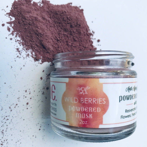 Anti-aging Powdered Face Mask