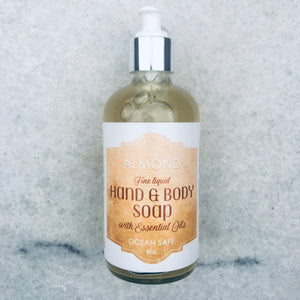 Almond Fine Liquid Hand and Body Soap