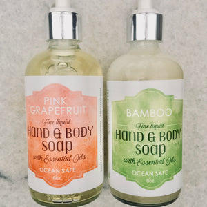 Pink Grapefruit Fine Liquid Hand and Body Soap