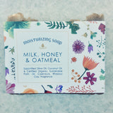Milk, Honey & Oatmeal Soap Bar