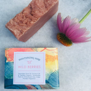 "A Field of ""Wild Berries"" Soap Bar"