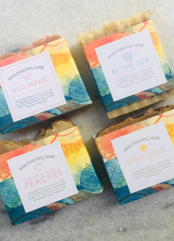 Signature Collection of 4 Handmade Soaps
