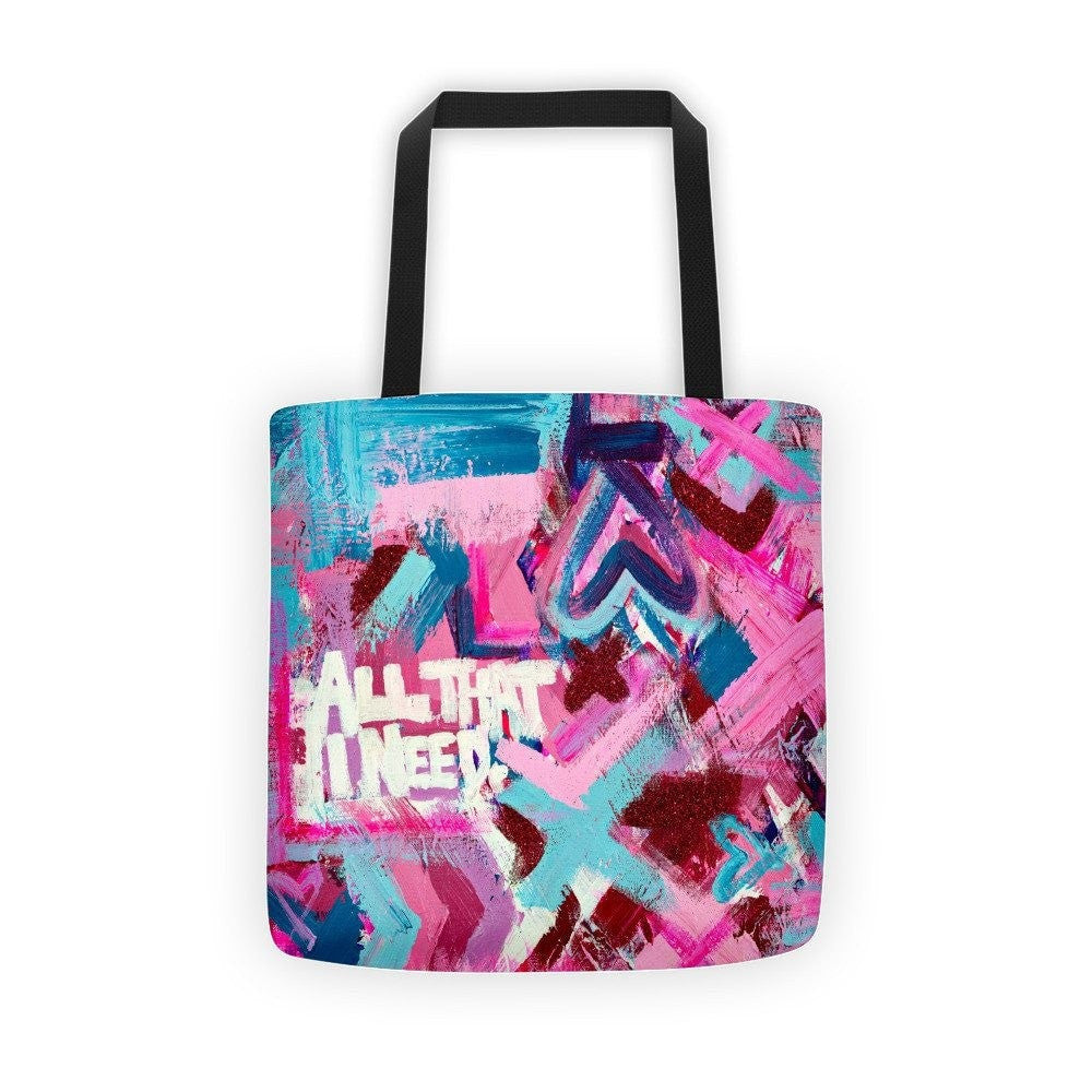 All That I Need. Classic Tote Abstract Deep