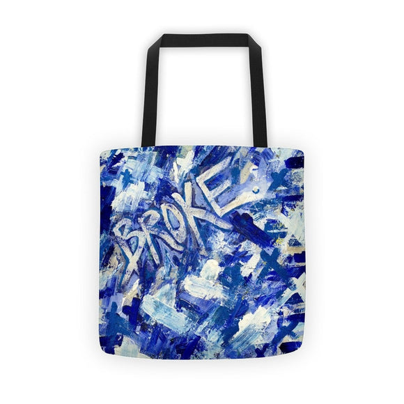 Broke. Classic Tote Abstract Deep