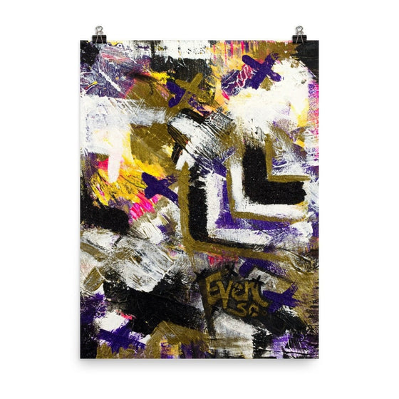 Even So. Premium Luster Photo Paper Poster Abstract Deep