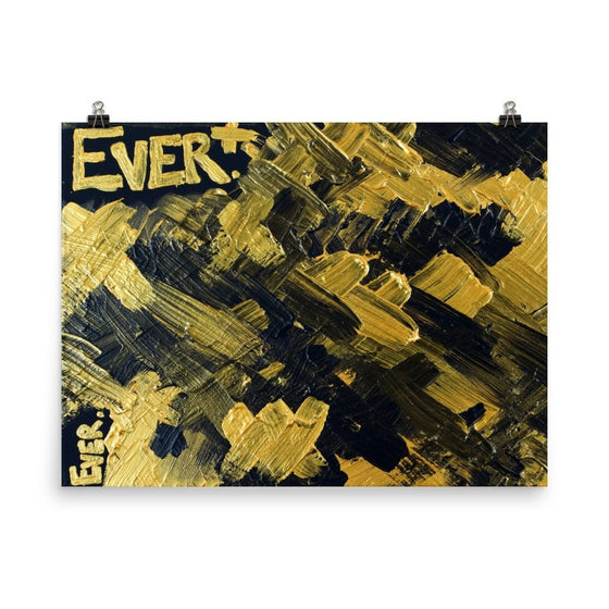Ever. Premium Luster Photo Paper Poster Abstract Deep