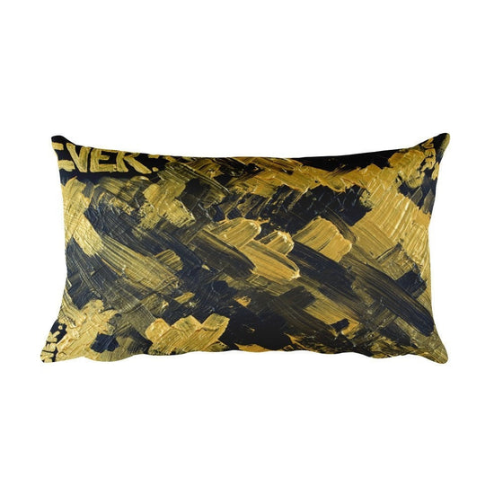 Ever. Rectangular Pillow Abstract Deep
