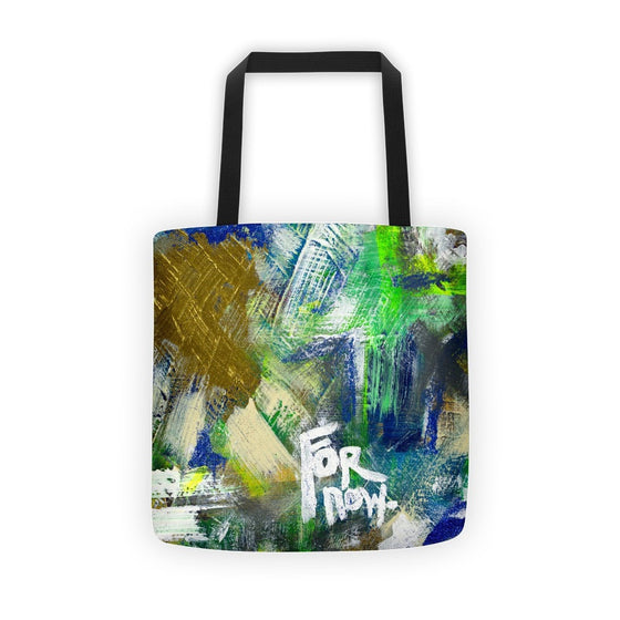 For Now. Classic Tote Abstract Deep