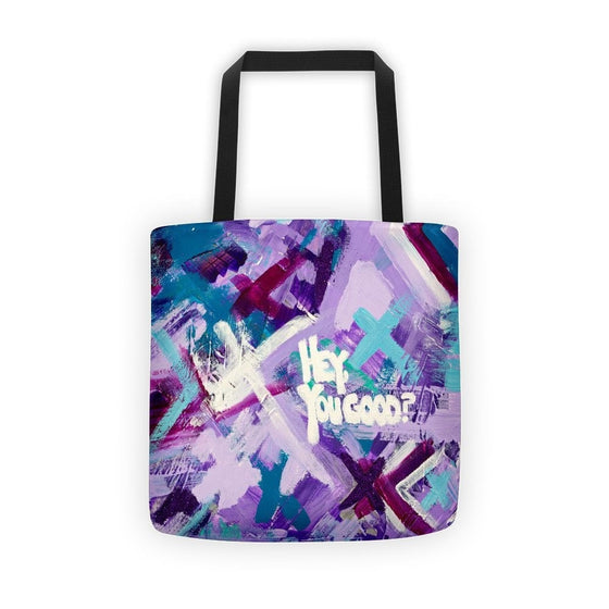 Hey You Good? Classic Tote Abstract Deep