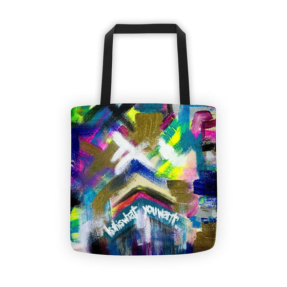 Is This What You Want. Classic Tote Abstract Deep