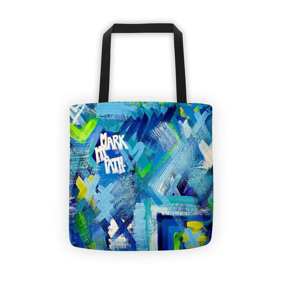 Mark My Path. Classic Tote Abstract Deep