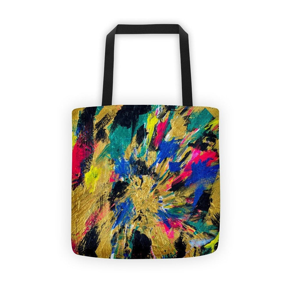 No Name. Classic Tote Abstract Deep