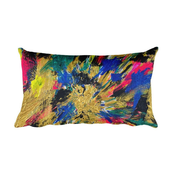 No Name. Rectangular Pillow Abstract Deep
