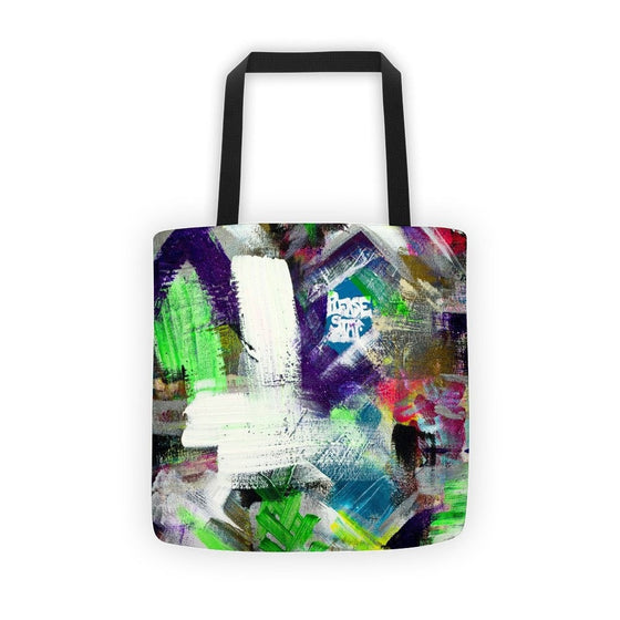 Please Stay. Classic Tote Abstract Deep
