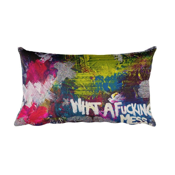 Rectangular Pillow Abstract Deep