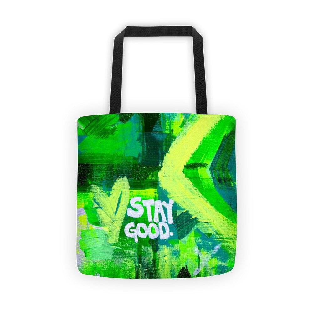 Stay Good. Classic Tote Abstract Deep