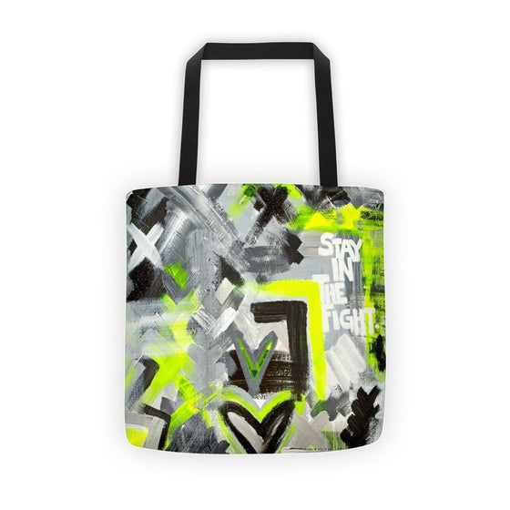 Stay In The Fight. Classic Tote Abstract Deep