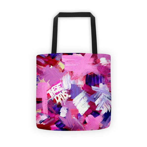 These Days. Classic Tote Abstract Deep