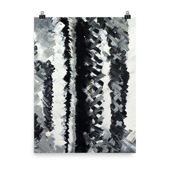 Up. Enhanced Matte Paper Poster Abstract Deep