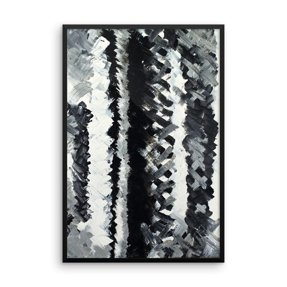 Up. Premium Luster Photo Paper Framed Poster Abstract Deep