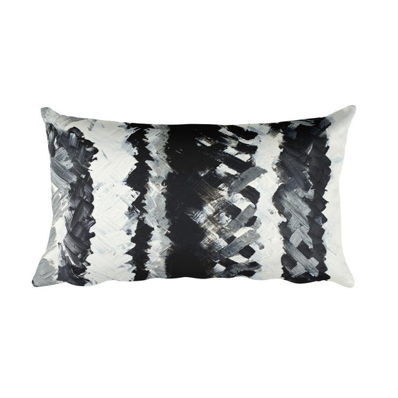Up. Rectangular Pillow Abstract Deep