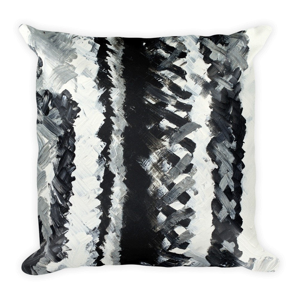 Up. Square Pillow Abstract Deep