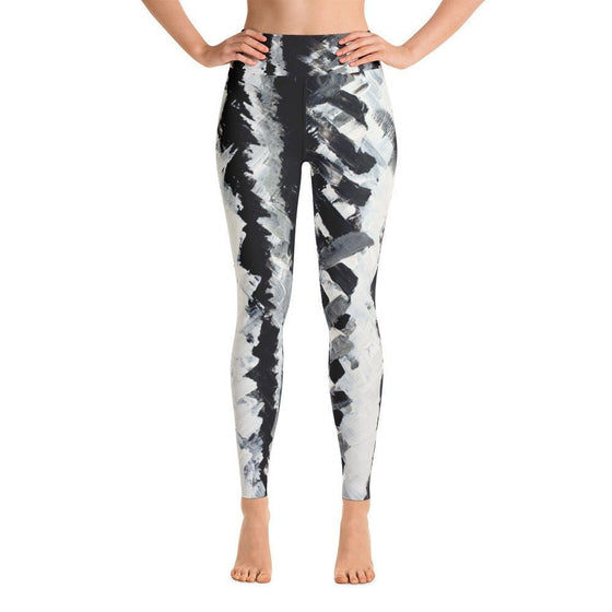 Up. Yoga Leggings Abstract Deep