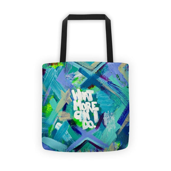 What More Can I Do. Classic Tote Abstract Deep
