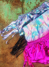 Spacey Kacey fringed holographic bummies