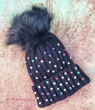 Sparkle me colorful beanie
