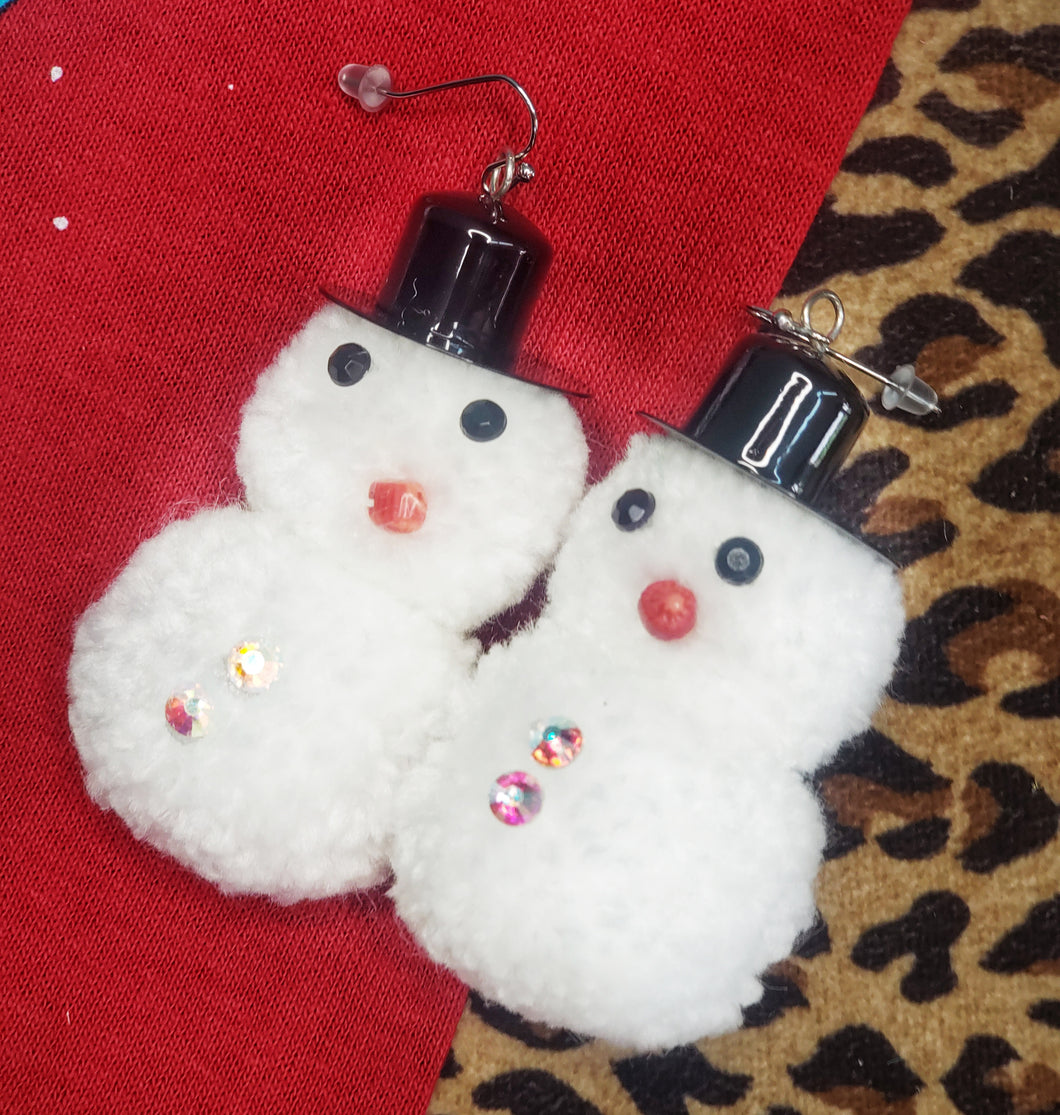 Frosty earrings