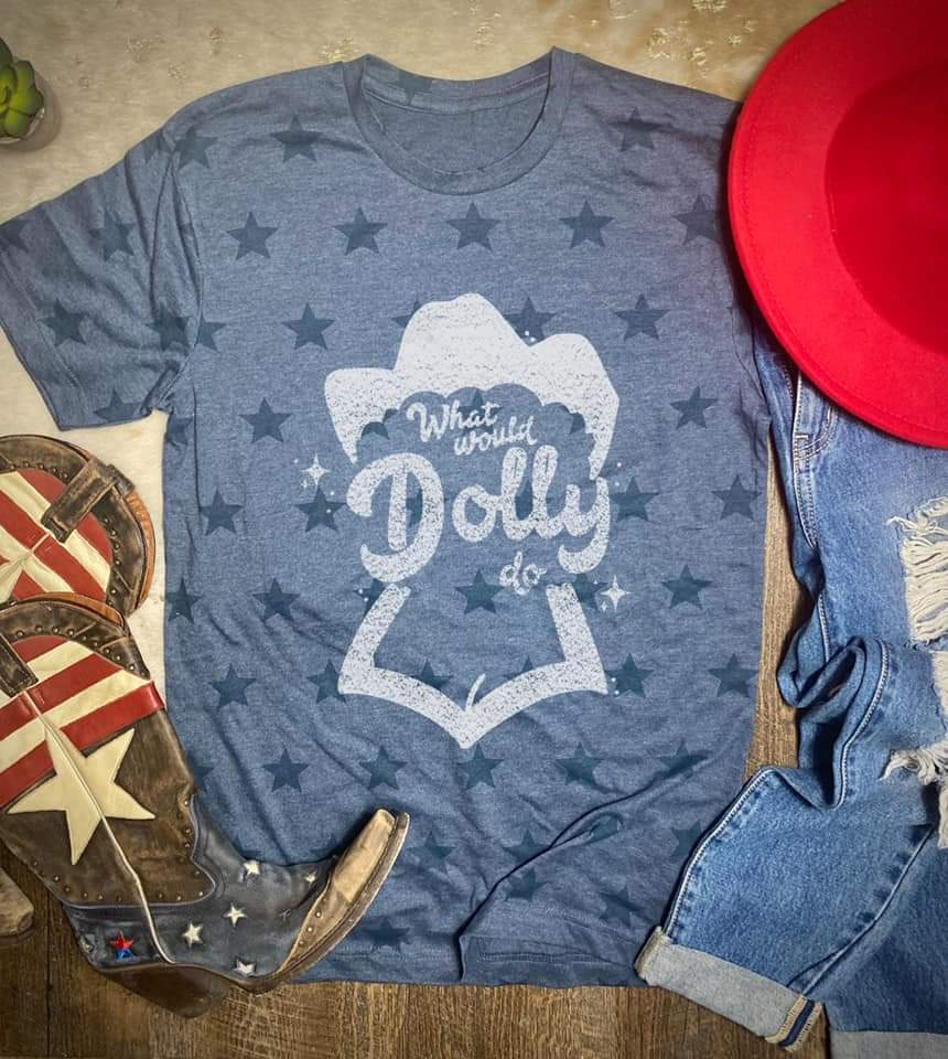 Mamacita What would Dolly Do star tee