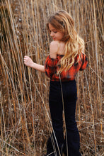 Plaid crop