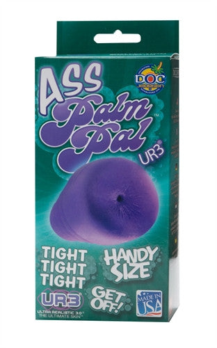 Palm Pal Frosted Ur3 Masturbators - Ass - Purple
