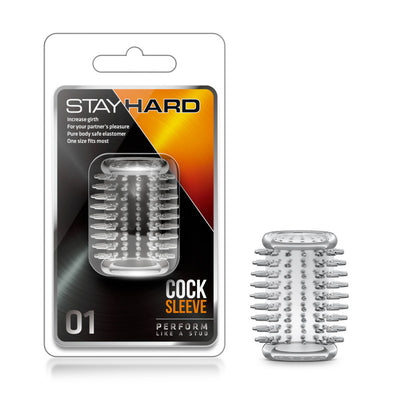 Stay Hard - Cock Sleeve 01 - Clear