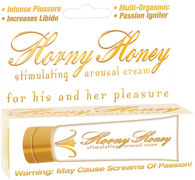 Horny Honey Arousal Cream 1oz Tube